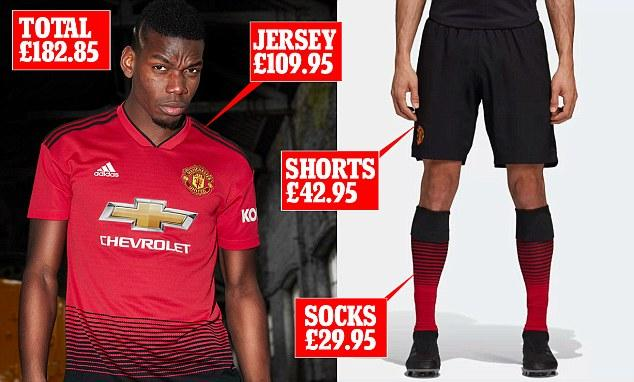 Manchester United unveil their most expensive home kit ever